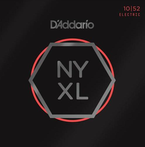 D'ADDARIO ELECTRIC NYXL NICKEL WOUND - 10-52 LIGHT/HEAVY