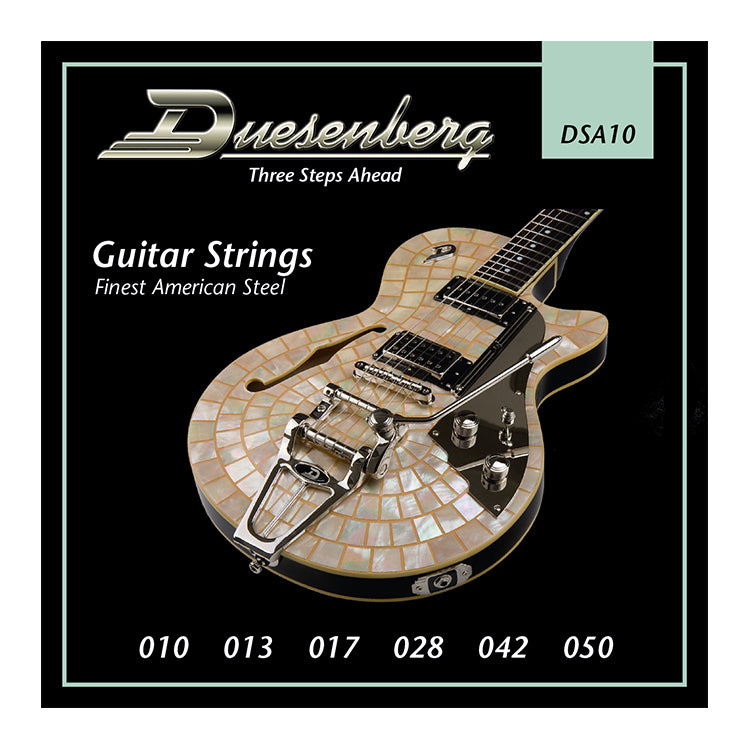 DUESENBERG NICKEL WOUND ELECTRIC STRINGS DSA10 - 10-50