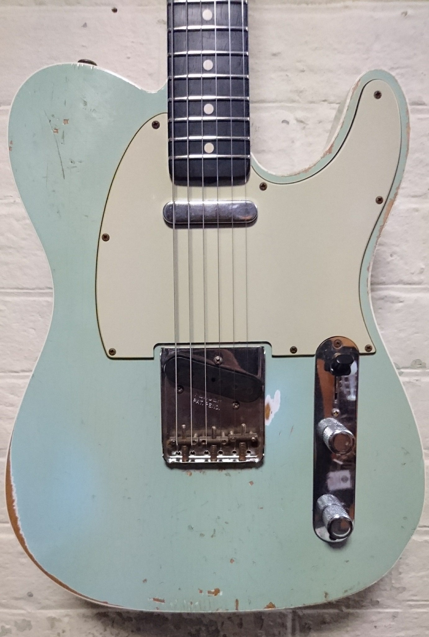 FENDER CUSTOM SHOP TELECASTER WILDWOOD 10 '59 SONIC BLUE