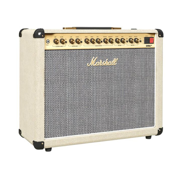 MARSHALL DSL40C- CREAM TOLEX & VINTAGE GRILL CLOTH