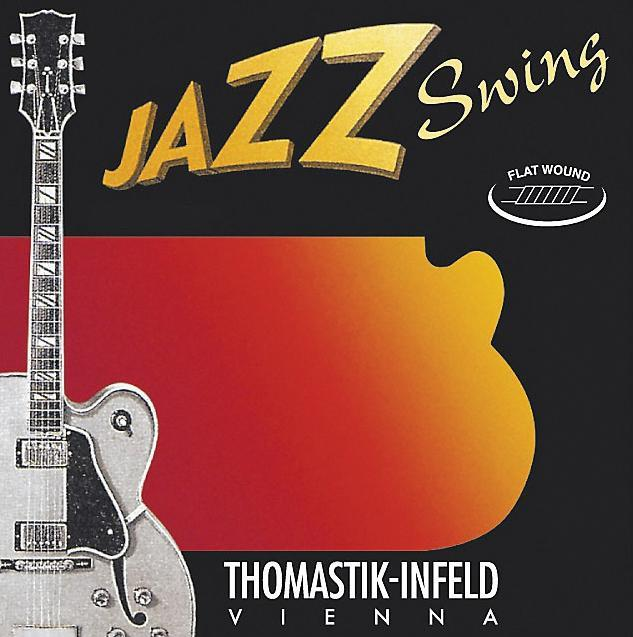 THOMASTIK JAZZ SWING ELECTRIC GUITAR STRINGS JS110 - 10-44