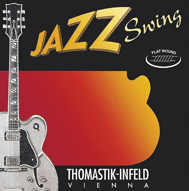 THOMASTIK JAZZ SWING ELECTRIC GUITAR STRINGS JS111 - 11-47