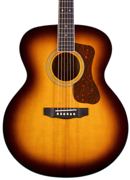 GUILD F-250E DELUXE JUMBO ACOUSTIC FLAMED MAPLE *SHOP SOILED*