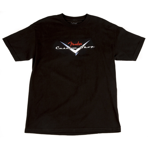 FENDER CUSTOM SHOP ORIGINAL LOGO T-SHIRT - S/M/L/XL/XXL