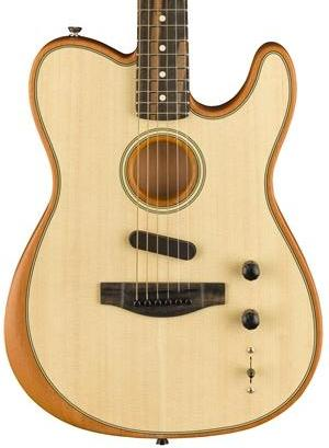 FENDER AMERICAN ACOUSTASONIC TELE - EBONY FINGERBOARD NATURAL