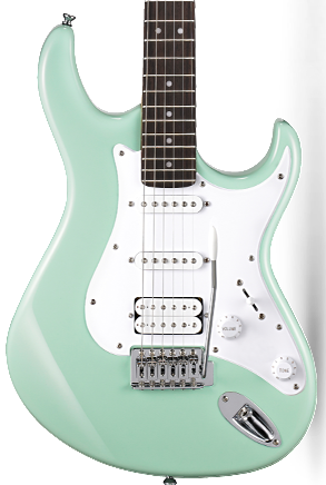 CORT G110 ELECTRIC GUITAR - CARIBBEAN GREEN