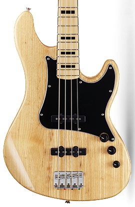 CORT GB54JJ BASS NATURAL GLOSS
