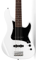 CORT GB55JJ 5-STRING BASS - OLYMPIC WHITE