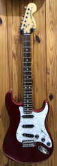 FENDER 2015 60TH ANNIVERSARY STRAT - CANDY APPLE RED PRE-LOVED *MODIFIED*