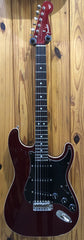 FENDER MIJ AERODYNE STRAT RW - CANDY APPLE RED PRE-LOVED