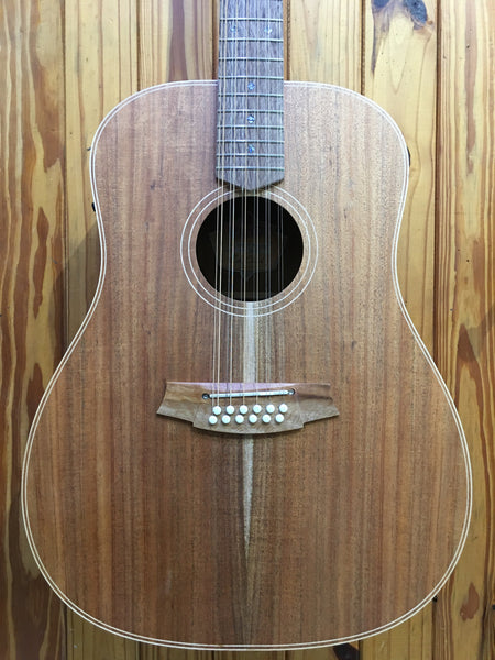COLE CLARK FAT LADY 2E 12-STRING - ALL BLACKWOOD (PRE-LOVED)