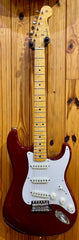 FENDER CUSTOM SHOP LIMITED '57 STRAT NOS - BING CHERRY TRANSPARENT