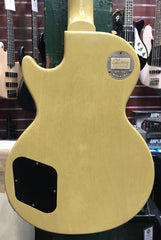 GIBSON 1957 CUSTOM LES PAUL SPECIAL SINGLE CUT REISSUE VOS TV YELLOW