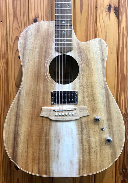 COLE CLARK FL2EC - FAT LADY 2 BLACKWOOD WITH HUMBUCKER