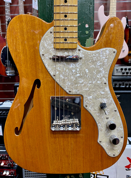 FENDER VINTAGE CUSTOM 1968 TELE THINLINE - AGED NATURAL