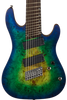 CORT KX508 8-STRING MULTI SCALE - MARIANA BLUE BURST
