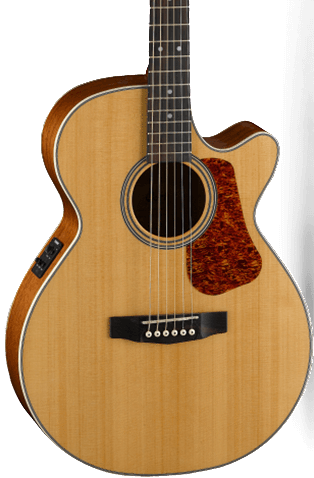 CORT EARTH L100F - MAHOGANY BACK & SIDES SMALL BODY