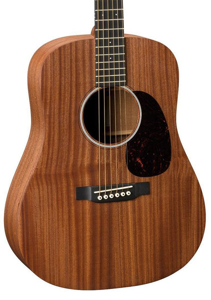 MARTIN & CO DJR10E-S - DREADNOUGHT JUNIOR SAPELE MAHOGANY W/PICKUP
