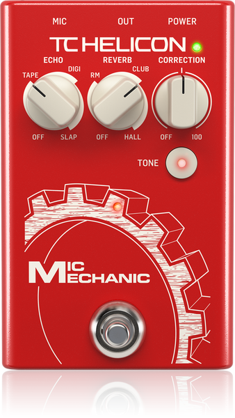 TC HELICON MIC MECHANIC 2 - VOCAL EFFECTS PEDAL