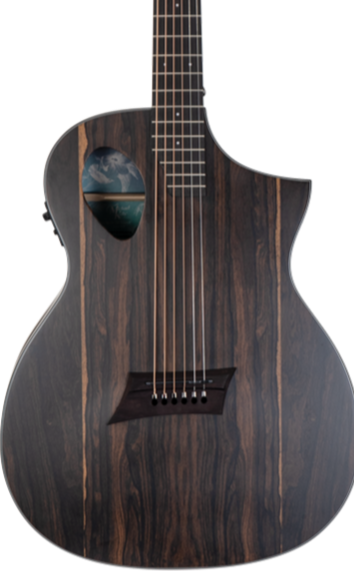 MICHAEL KELLY FORTE EXOTIC ZIRICOTE ACOUSTIC