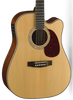 CORT MR710F - SOLID SPRUCE TOP DREADNOUGHT WITH HARD CASE
