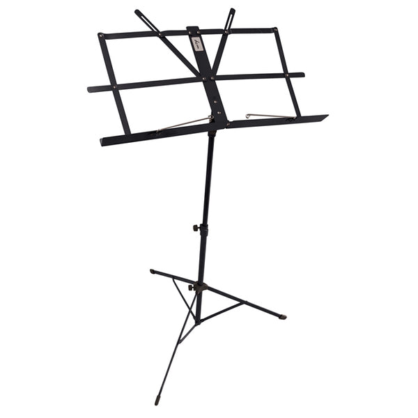 DCM FOLDING MUSIC STAND WITH BLACK CARRY BAG
