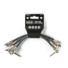 MXR RIGHT ANGLE PATCH CABLE - 3 PACK