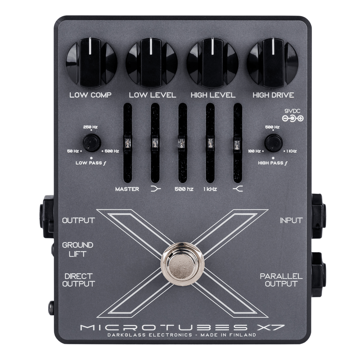 DARKGLASS MICROTUBES X7 - MULTIBAND BASS DISTORTION / DI