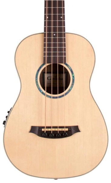 CORDOBA MINI II BASS - SOLID SPRUCE TOP / EBONY BACK & SIDES
