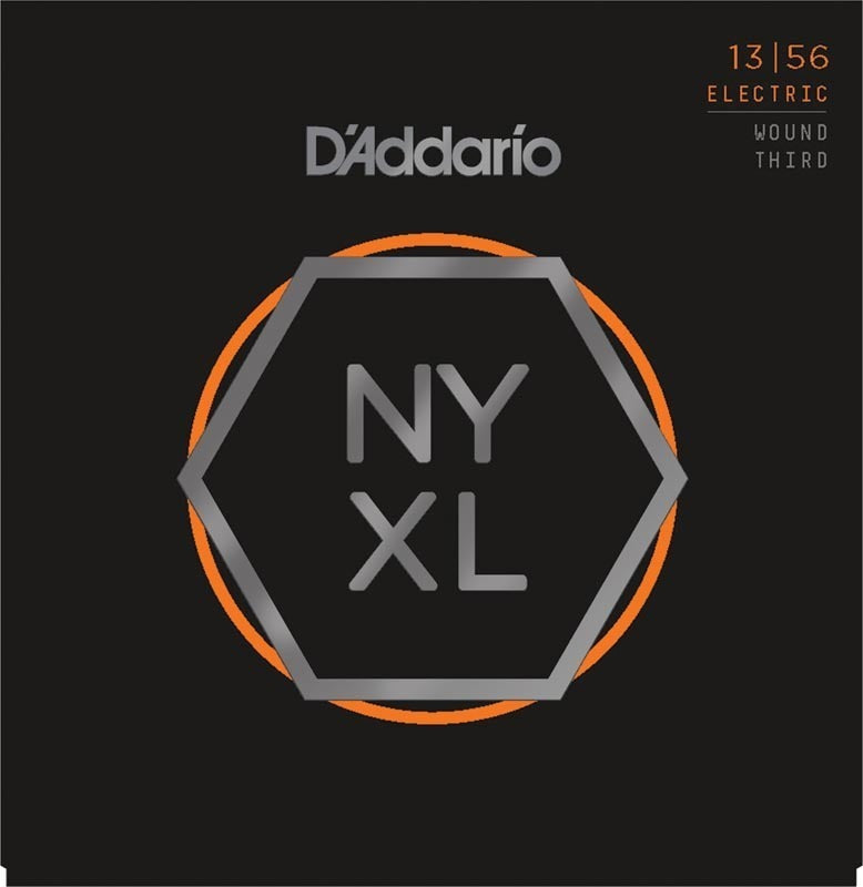D'ADDARIO NYXL 13-56 WOUND THIRD ELECTRIC STRINGS