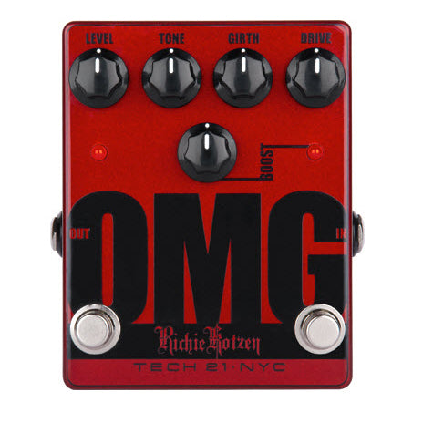 TECH 21 OMG OVERDRIVE PEDAL