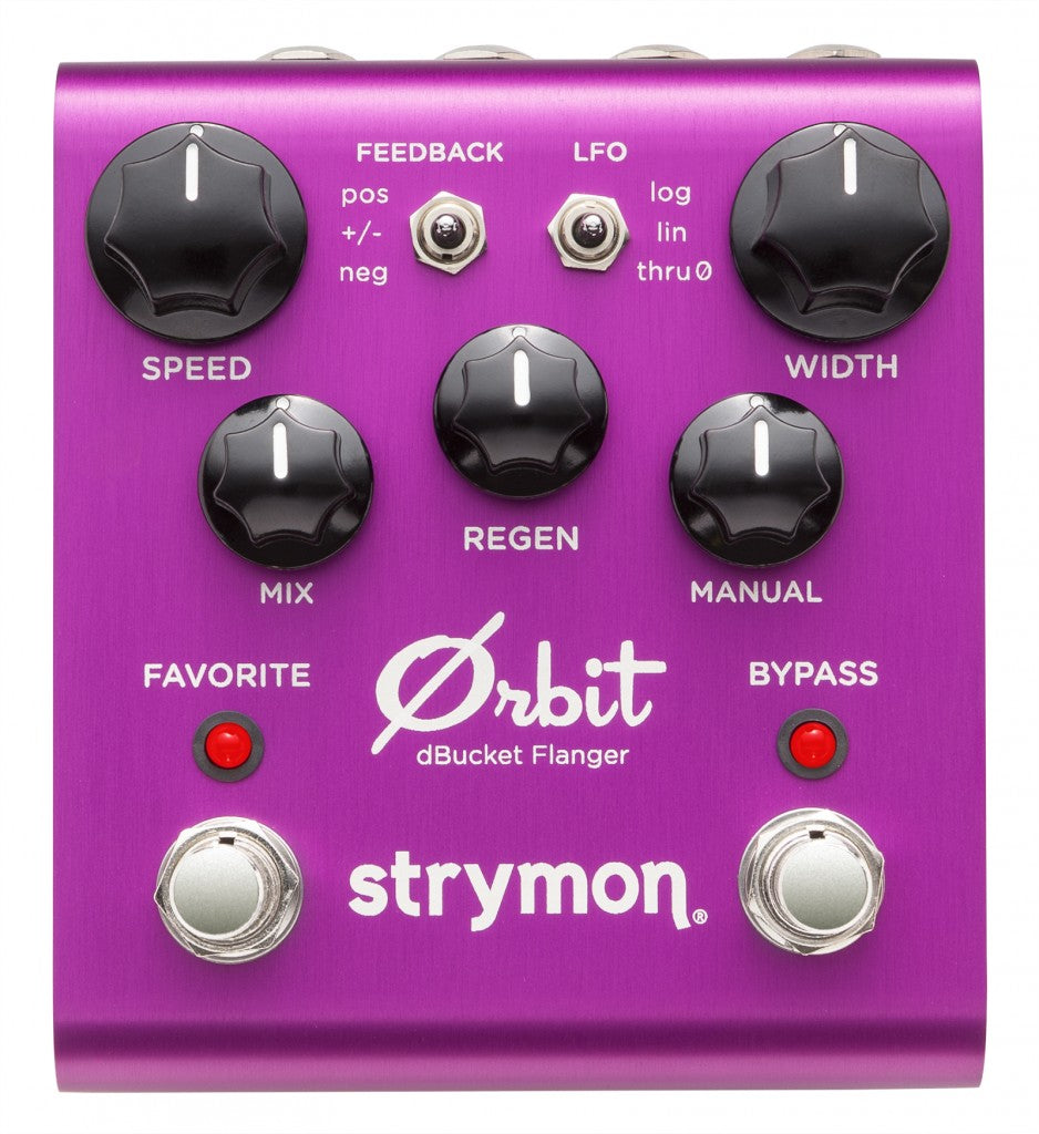 STRYMON ORBIT - dBUCKET FLANGER