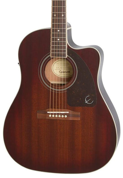 EPIPHONE AJ220SCE ACOUSTIC SOLID TOP