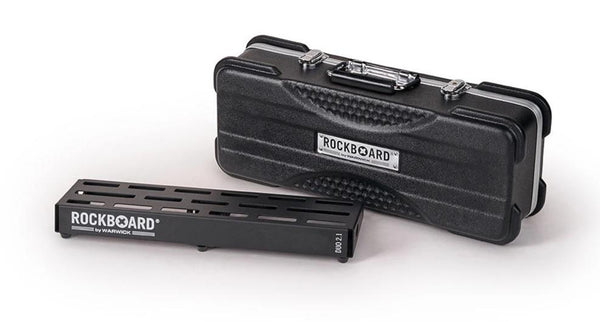 WARWICK ROCKBOARD DUO 2.1 - PEDALBOARD IN ABS CASE