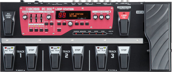 BOSS RC300 TRIPLE LOOP STATION