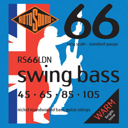 ROTOSOUND RS66LDN SWING BASS LONG SCALE NICKEL STRINGS - 45-105