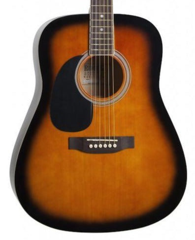 REDDING RED50LHTS ACOUSTIC LEFT HANDED GUITAR TOBACCO SUNBURST