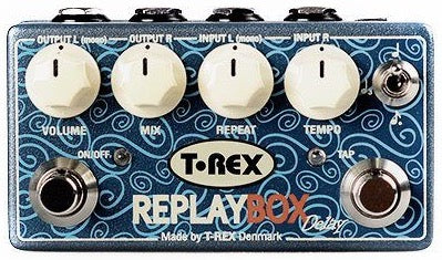 T-REX REPLAY BOX - STEREO ANALOG DELAY
