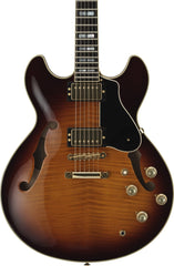 YAMAHA SA2200 HOLLOWBODY BROWN SUNBURST