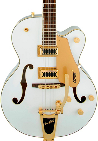 GRETSCH G5420TG ELECTROMATIC LTD EDITION SNOW CREST WHITE