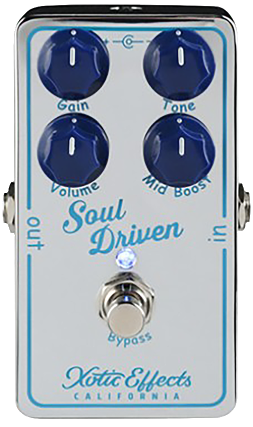 XOTIC SOUL DRIVEN - OVERDRIVE & BOOST