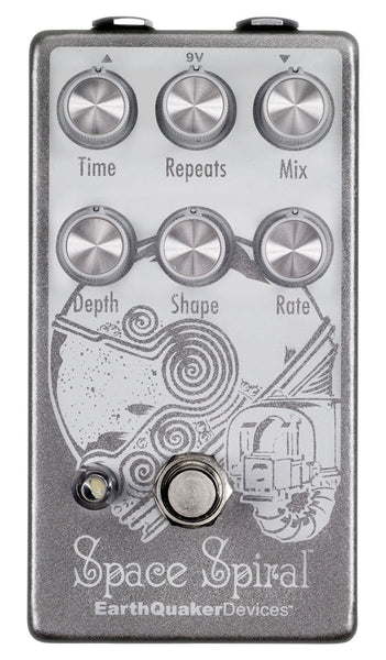 EARTHQUAKER DEVICES SPACE SPIRAL MODULATED DELAY V2 PEDAL