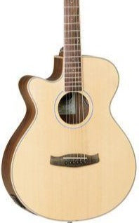 TANGLEWOOD TDBTSFCEBWLH DISCOVERY EXOTIC - LEFT HANDED