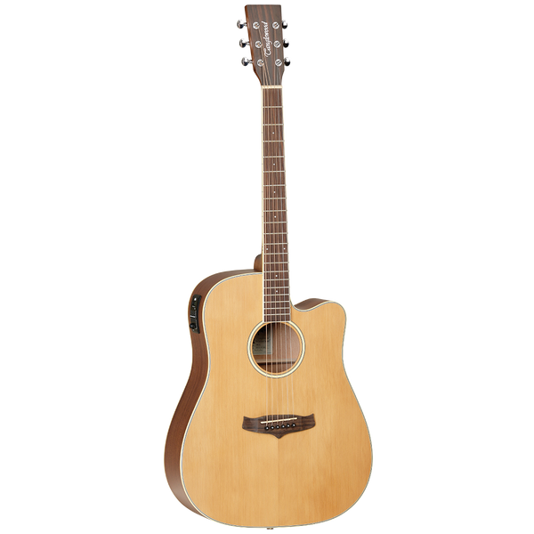TANGLEWOOD TW10 WINTERLEAF DREADNOUGHT CUTAWAY ACOUSTIC GUITAR