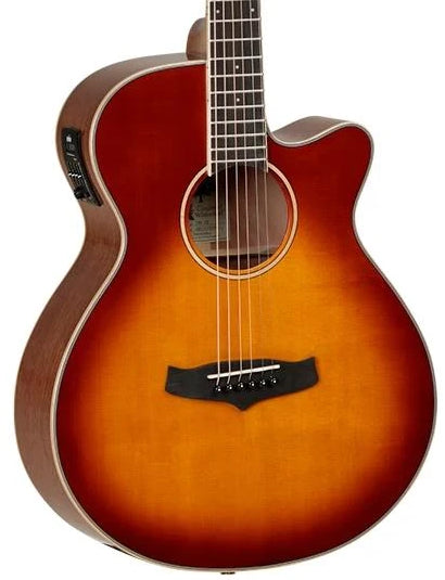 TANGLEWOOD WINTERLEAF SUPERFOLK WITH PICKUP - SUNBURST