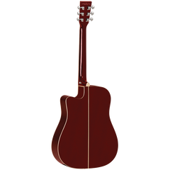 TANGLEWOOD TW5WR WINE RED GLOSS FINISH SOLID TOP