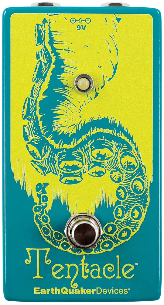 EARTHQUAKER DEVICES TENTACLE ANALOG OCTAVE UP PEDAL V2