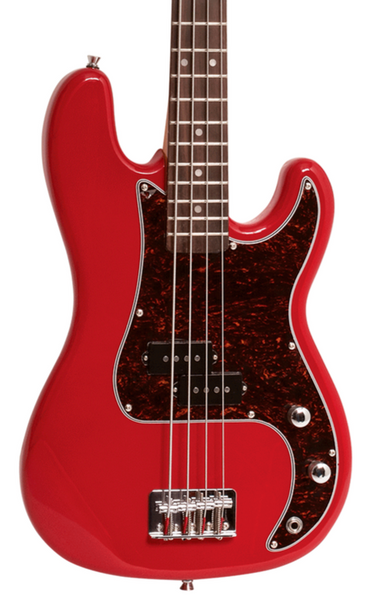 ESSEX 3/4 BASS GUITAR - FIESTA RED