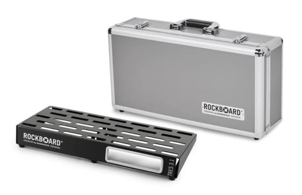 WARWICK ROCKBOARD TRES 3.1 - PEDALBOARD IN FLIGHT CASE