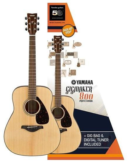 YAMAHA GIGMAKER800 GLOSS - ACOUSTIC GUITAR VALUE PACK